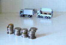 トラックと硬貨