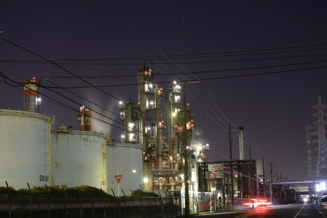 川崎市の工業地帯