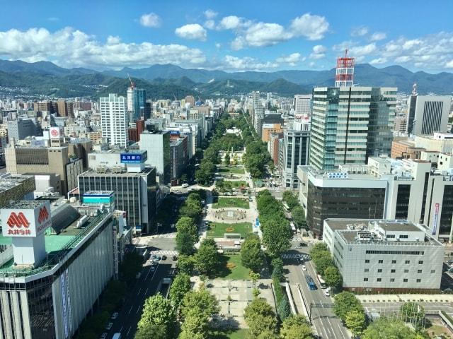 札幌大通り